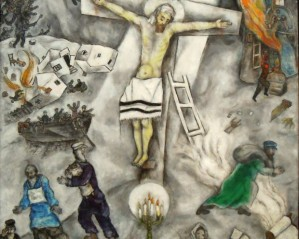 Marc Chagall White Crucifixion
