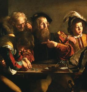 Caravaggio-Matthew-detail